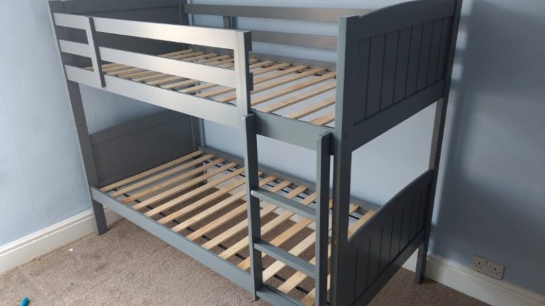 bunk beds assembled
